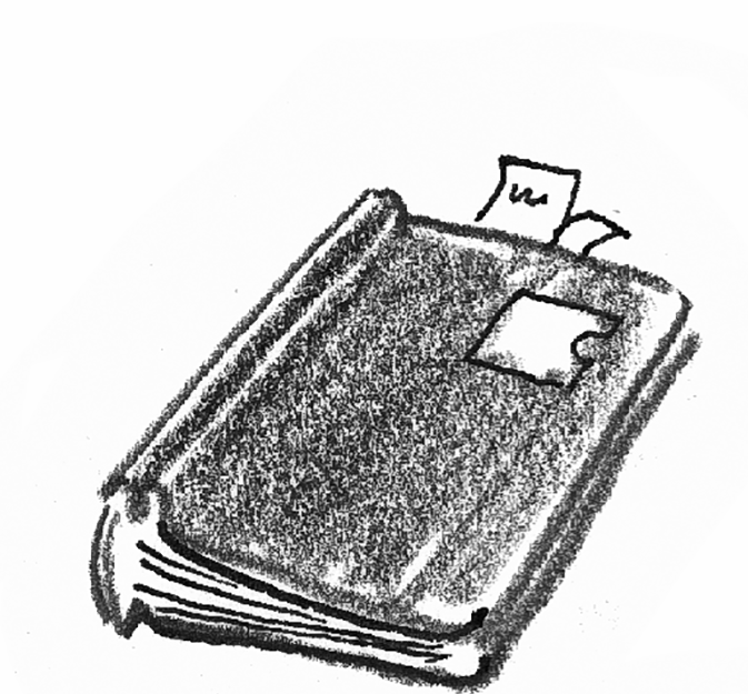 drawing of case file